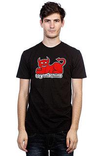 Футболка Toy Machine Devil Cat Black