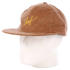 Бейсболка Huf Formless Scripts Panel Camel