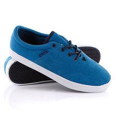 Кеды кроссовки высокие Fallen York Sky Blue/Mid Blue