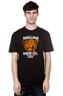 Футболка Dekline Wild Cat Black