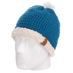 Шапка с помпоном Picture Organic Snowball Beanies Blue Petrol