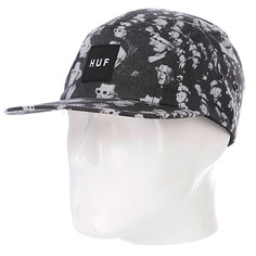 Бейсболка Huf 3D Box Logo Volley Silver
