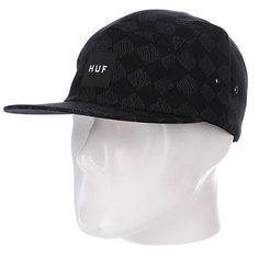 Бейсболка Huf Luxe Volley Black