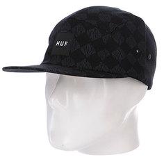 Бейсболка Huf Luxe Volley Black