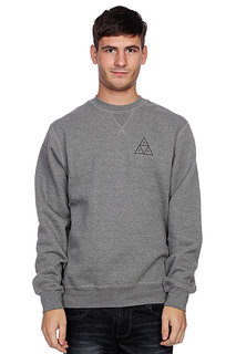Свитшот Huf Triple Triangle Crew Gunmetal