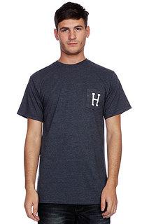 Футболка Huf Classic H Pocket Tee Denim Heather