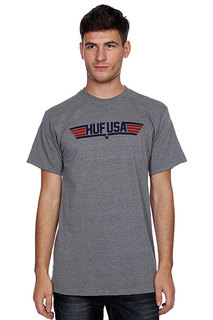 Футболка Huf Top Huf Gray Heather