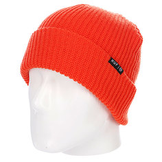 Шапка носок Huf Usual Beanie Bright Orange