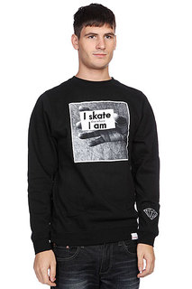 Толстовка Diamond I Am Crewneck Black