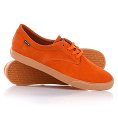 Кеды кроссовки низкие Huf Sutter Burnt/Orange Gum