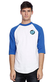 Лонгслив Santa Cruz Other Dot Raglan White/Royal