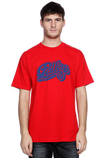 Футболка Fallen Hustle S/s Red/Royal