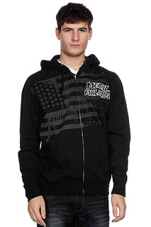 Толстовка Metal Mulisha Honors Zip Fleece Black