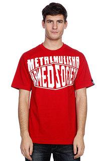 Футболка Metal Mulisha Boxed Cardinal