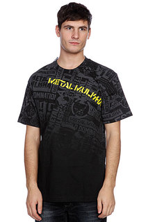 Футболка Metal Mulisha Dread Black/Yellow