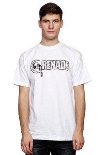 Футболка Grenade Dk Question White