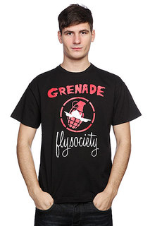 Футболка Grenade Fly Society Black