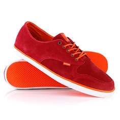 Кеды кроссовки низкие Element Topaz Suede Rio Red