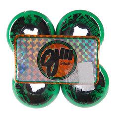 Колеса для скейтборда Oj Iii Bloodsuckers Green Black 97a 52 mm
