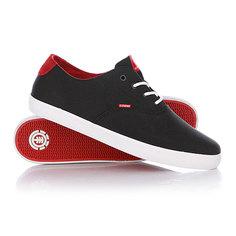 Кеды кроссовки низкие Element Lockhart Black/Red