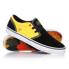 Кеды кроссовки низкие Fallen The Easy Black/Galaxy Yellow