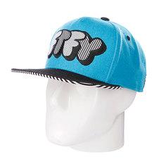 Бейсболка Flat Fitty Pop Type Blue