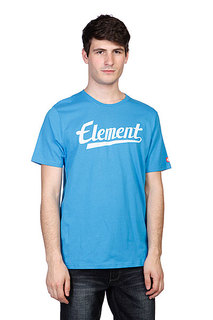 Футболка Element Signature Ss Swedish Blue