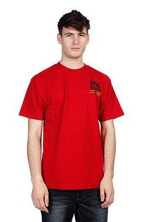 Футболка Metal Mulisha Brand Cardinal