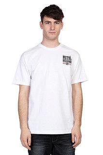 Футболка Metal Mulisha Brand Optic White