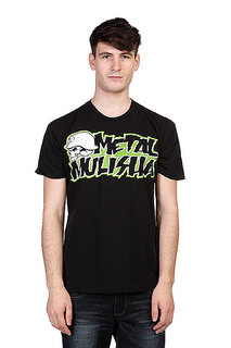 Футболка Metal Mulisha Corpo 2 Cstm Black W/Green