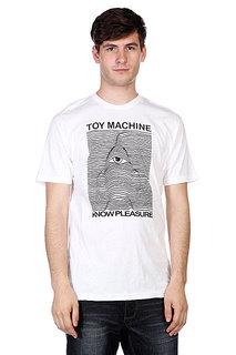 Футболка Toy Machine Toy Division White
