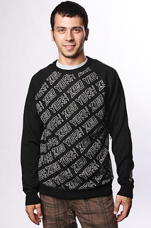 Свитер Zoo York Rock N Roll Sweater Black
