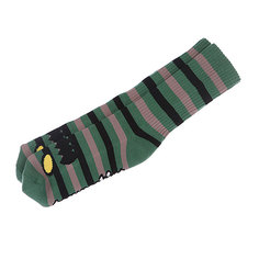 Носки средние Toy Machine Monster Stripe Green/Brown