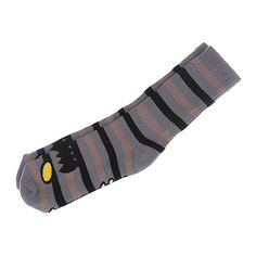 Носки средние Toy Machine Monster Stripe Grey/Tan