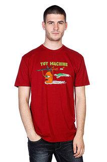 Футболка Toy Machine Blood River Cardinal