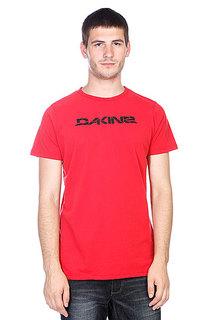 Футболка Dakine Stencil Rail Vintage Red