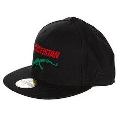 Бейсболка New Era Fallen Skateistan NewEra Black/Red/Green