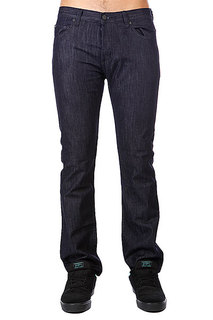 Джинсы широкие Fallen Straight Fit Jean Raw Indigo