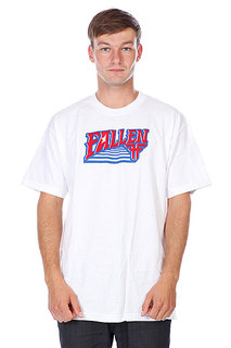 Футболка Fallen Rookie S/S White/Red/Blue