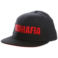 Бейсболка Sk8mafia Og Logo Red Adj Snapback