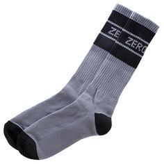 Носки высокие Zero Baseball Grey/Black