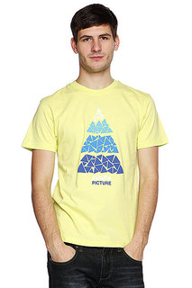 Футболка Picture Organic Mosaic Men Tee Green Light
