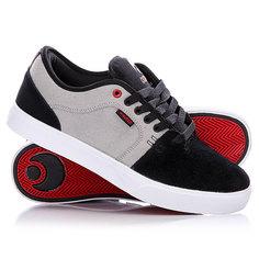 Кеды кроссовки низкие Osiris Decay Grey/Black/Red