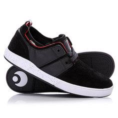 Кеды кроссовки низкие Osiris Duffel Kickback Black/Red/White
