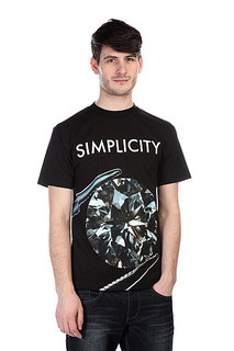 Футболка Diamond Simplicity Ii Tee Black