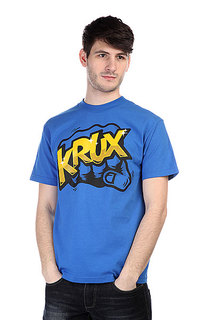 Футболка Krux The Bum Rush Royal Blue