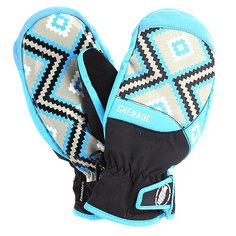 Варежки сноубордические женские Grenade Navajo Mitt Blue