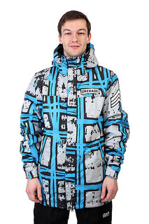 Куртка Grenade Mens Jacket Doomstripes Blue