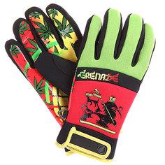 Перчатки сноубордические Grenade Bob Gnarly Glove Rasta/Red