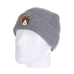 Шапка Huf Badge Beanie Grey